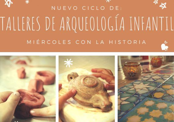 Ciclo de talleres de arqueología para niños con ArqueoRutas en Málaga