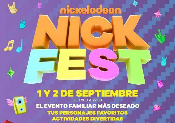 Festival infantil de Nickelodeon gratis en Fuengirola en septiembre