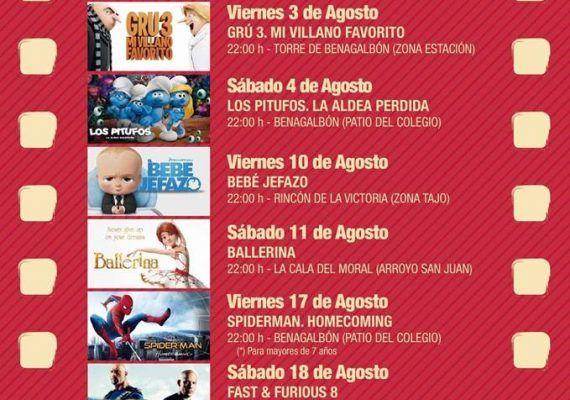 Cine de verano Rincón de la Victoria