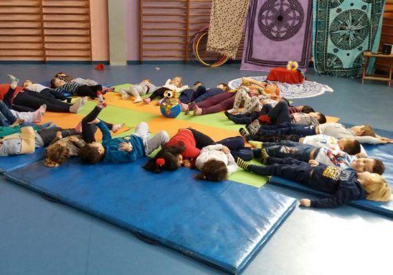 Yoga en familia en Málaga