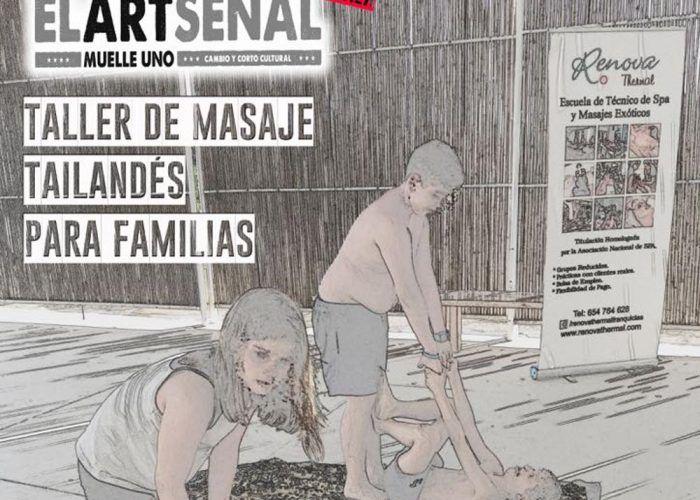 Taller de masaje para familias