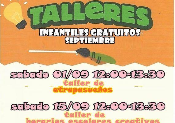 Talleres gratuitos para niños con Poppins en el Corte Inglés Bahía Málaga en septiembre