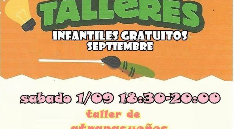 Talleres gratis para niños en el Corte Inglés de Mijas con Poppins en septiembre