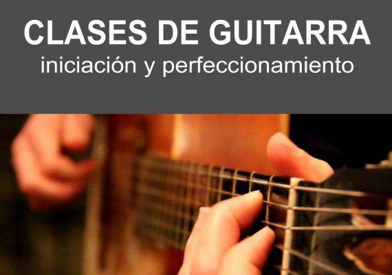 Clases de guitarra en Nerja para el curso escolar 2018/2019
