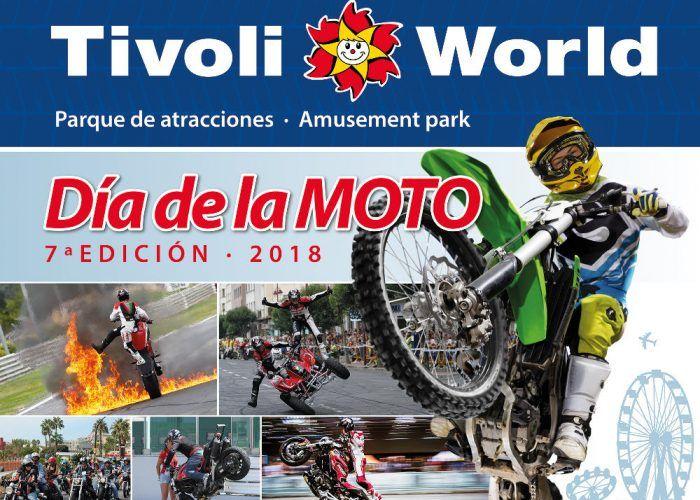 Entra gratis a Tivoli el domingo 23 de septiembre en el Día de la Moto