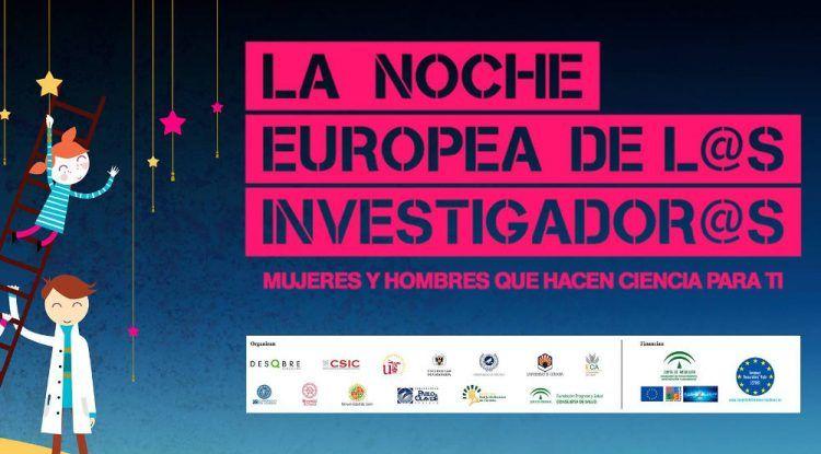 Actividades gratis para niños y jóvenes en La Noche de los Investigadores en Málaga
