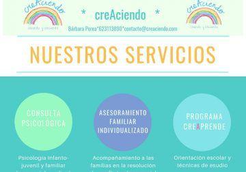 CreAciendo Málaga, asesoramiento familiar y talleres sobre la educación de los hijos