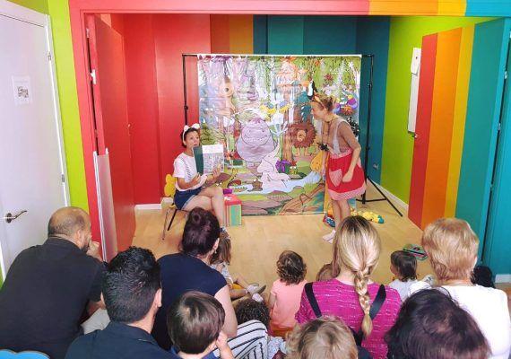 Cuentacuentos gratis en inglés para bebés con Kids&Us Málaga Centro este sábado
