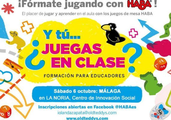Curso gratuito para docentes y educadores sobre juegos de mesa en Málaga