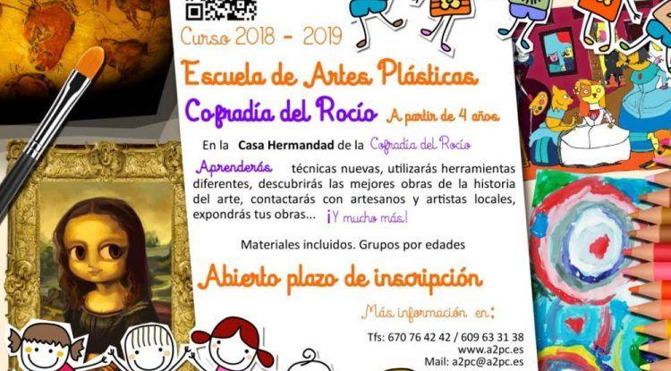 Escuela de artes plásticas para niños en Málaga