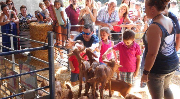 Actividades para niños en la X Fiesta de la Cabra Malagueña en Casabermeja