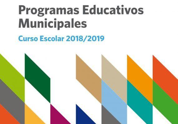 Programas educativos municipales del Ayuntamiento de Málaga curso 2018/2019