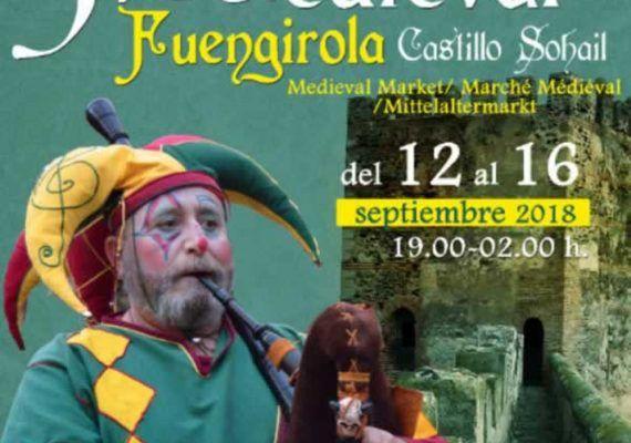 Mercado Medieval gratis en el Castillo Sohail de Fuengirola con actividades infantiles