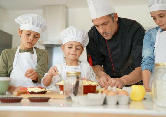 Taller de cocina italiana para niños y jóvenes con Centro Te Motivan Málaga en septiembre