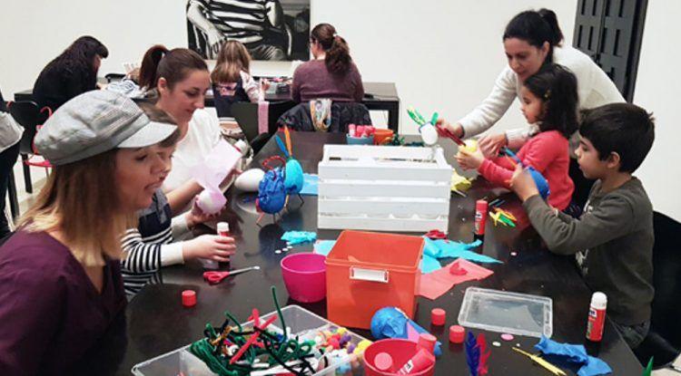 Talleres gratis para toda la familia en Museo Picasso Málaga este sábado