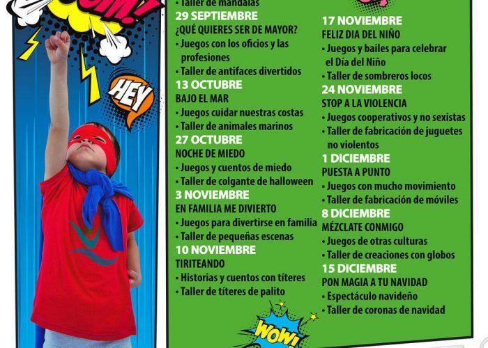 Actividades gratis para niños los sábados por la tarde en CC Rincón de la Victoria