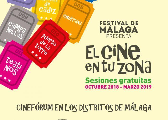 Pelis infantiles gratis en Málaga con El cine en tu zona
