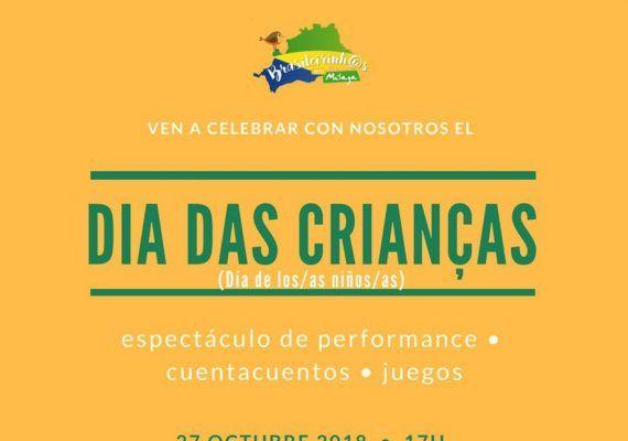 Cuentacuentos gratis para niños sobre la cultura brasileña en Málaga
