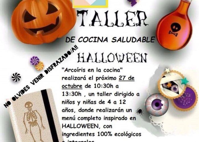 Taller infantil de cocina saludable sobre Halloween en Málaga - La ...