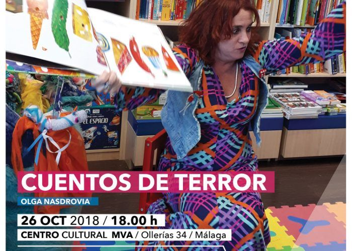 Cuentacuentos infantiles gratis de terror para celebrar Halloween en Málaga