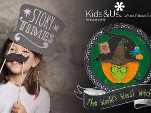 Cuentacuentos gratis en inglés con Kids&Us Málaga para celebrar Halloween