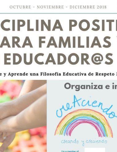Curso de disciplina positiva para familias y educadores en Málaga