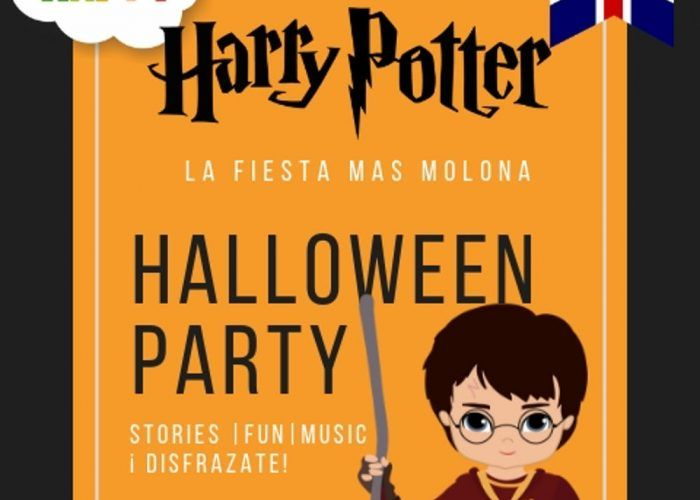 Halloween para niños en el Club Happy Málaga con temática de Harry Potter