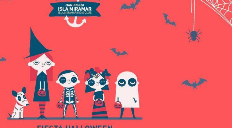 Concurso de disfraces y animación para niños en la fiesta de Halloween del CC Miramar de Fuengirola