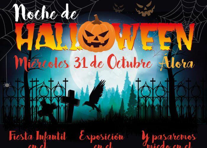 Noche de Halloween en Álora con actividades para toda la familia