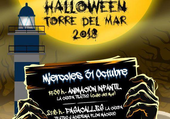 Celebra Halloween en Torre del Mar con talleres infantiles y pasaje del terror gratis