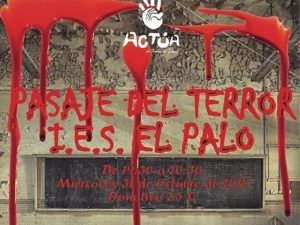 Halloween Málaga: pasaje del terror solidario para adolescentes en El Palo