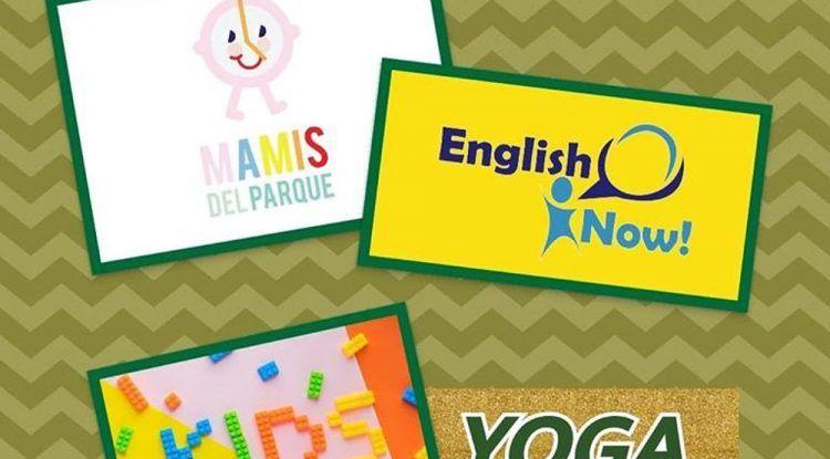 Fiesta infantil de Halloween con yoga y pintacaras en Málaga con las Mamis del parque