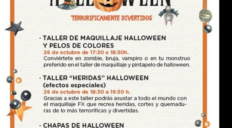 Actividades de Halloween gratis para niños en El Corte Inglés de Puerto Banús y de Málaga