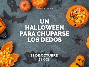 Halloween para toda la familia en Larios Centro con taller de cocina
