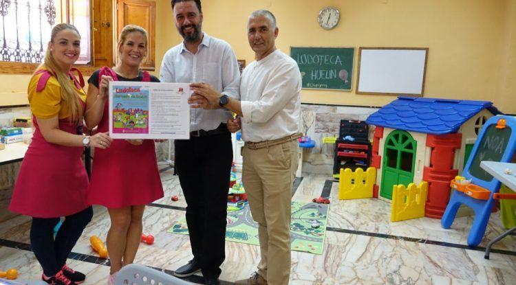 Ludoteca gratis para niños los sábados por la mañana en el mercado de Huelin (Málaga)