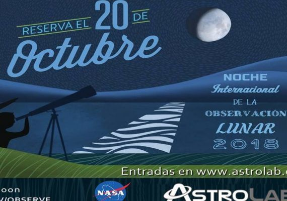 Disfruta con niños de la Noche Internacional de la Observación Lunar
