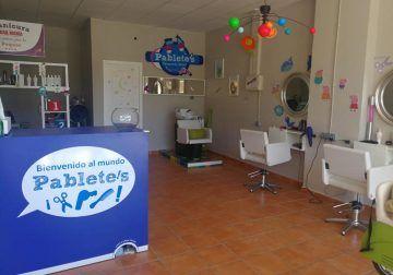 La peluquería infantil Pablete's de Málaga llega a Teatinos