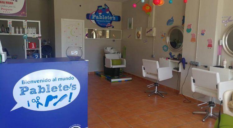 Peluquería infantil en Málaga Pablete's