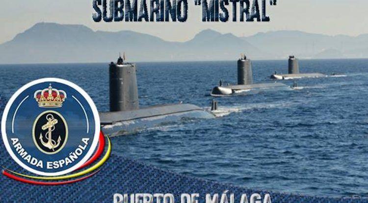 Visita el submarino Mistral con toda la familia en el puerto de Málaga