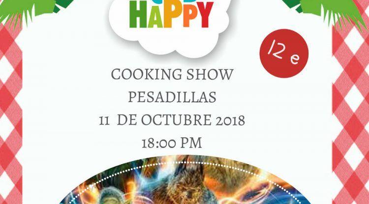 Talleres infantiles de cocina y de ciencia con el Club Happy Málaga en octubre