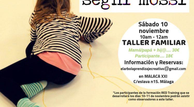 Taller de Segni Mossi para toda la familia en Málaga en noviembre