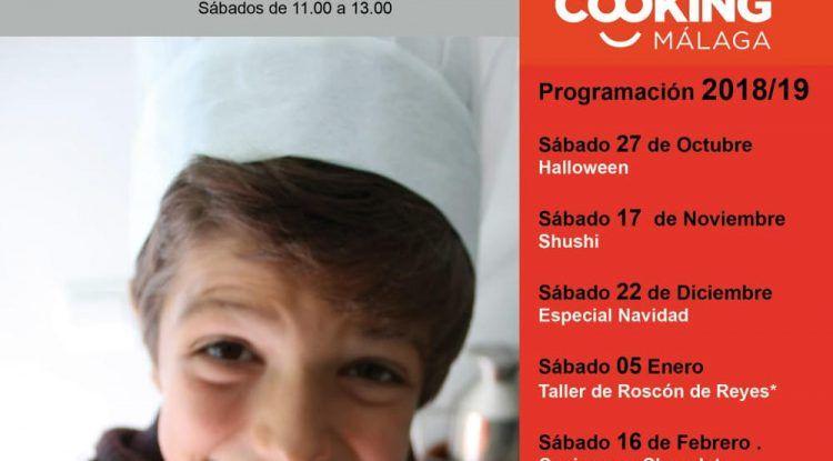 Talleres de cocina para niños y en familia con Cooking en Málaga