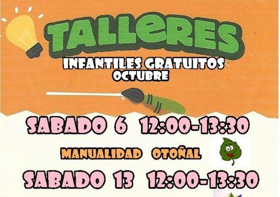 Talleres gratis para niños con Poppins en el Corte Inglés Bahía Málaga en octubre
