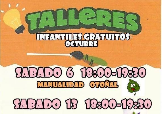 Talleres infantiles gratis con Poppins en el Corte Inglés de Mijas en octubre