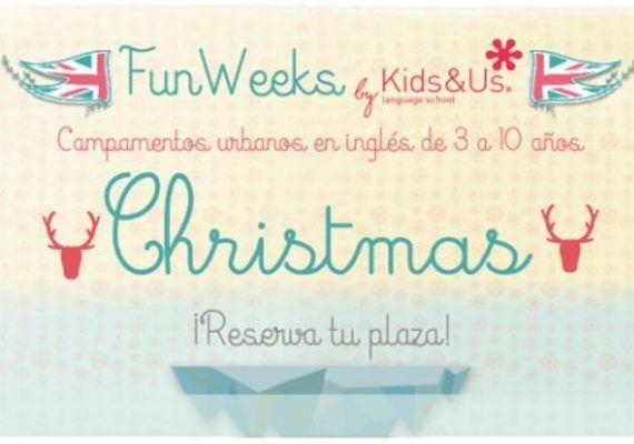Campamento de Navidad en inglés para niños con Kids&Us Málaga