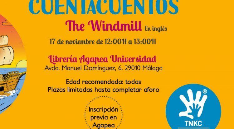 The New Kids Club organiza un cuentacuentos gratis en inglés en Málaga este sábado