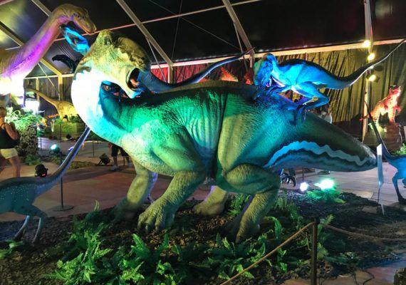 Dino Expo XXL en Málaga: más de un centenar de dinosaurios animados a escala real para visitar en familia