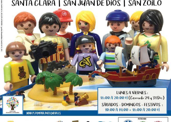 Exposición de clicks de Playmobil en Antequera