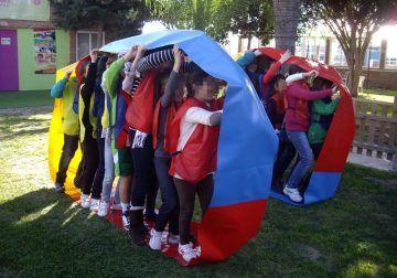 Fiestas originales en los cumpleaños infantiles de Ludoteca Laberinto en Málaga