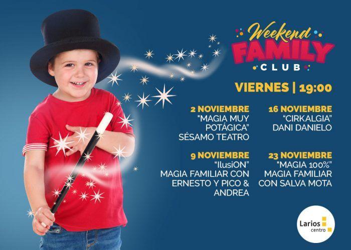 Magia y teatro gratis para niños los viernes en Larios Centro Málaga